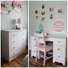 wood furniture makeover desk and dresser transformation bedroom furniture makeover