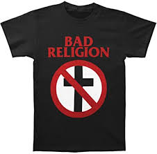Bad Religion Men's Classic Crossbuster T-Shirt Black ... - Amazon.com