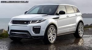 Изменения Range Rover Evoque 2016 - Рестайлинг или ...