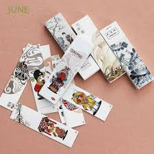 Painting Message Card <b>Peking Opera</b> Paper Bookmark | Shopee ...
