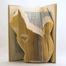 cat folded book art book sculpture cat lover animal lover animal gift cat lovers 27 diy solutions