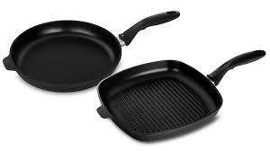 Swiss <b>Diamond</b> XD Nonstick Induction <b>Fry Pan</b> & Grill Pan Set, 2 ...