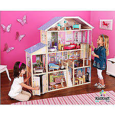 kidkraft majestic mansion dollhouse wood doll house with furniture play set brand baby wooden doll house