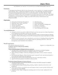 professional computer operations manager templates to showcase resume templates computer operations manager