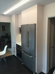 skokie kitchen inspiration for a mid sized contemporary u shaped kitchen remodel with an undermount sink cabinet lighting ikea