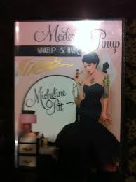 1 signed dvd modern pinup hair and makeup by micheline pitt