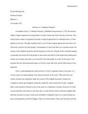 modest proposal essay examples fawmyipme rhetorical analysis of modest proposal essay michalowski emma rhetorical analysis of modest proposal essay michalowski emma
