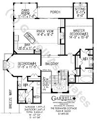 tide water cottage house plan coastal house plans Coastal Ranch House Plans tide water house plan 06253, 2nd floor plan coastal ranch home plans