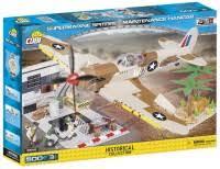 <b>Конструктор COBI Supermarine Spitfire</b> Maintenance Hangar 5546