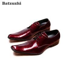 Batzuzhi Luxury Men Shoes Formal <b>Business Leather Dress Shoes</b> ...