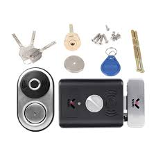 WAFU <b>WF</b>-014A <b>Smart Fingerprint Lock</b> Stainless Steel Electric Lock ...