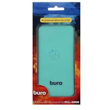 <b>Мобильный аккумулятор Buro RCL-5000-GW</b> Li-Pol 5000mAh 1A ...