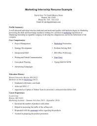 intern resume template college intern resumes intern resume career objective for internship resume examples marketing internship marketing internship resume samples