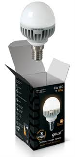 Купить <b>Лампа Gauss LED Globe</b> 6W E14 2700K 1/10/100 в Москве ...