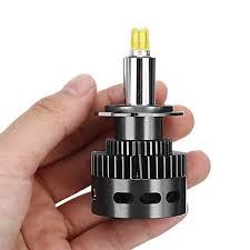 2pcs X8 CSP 6 Sides LED Car Headlights Bulbs H7 D Series <b>100W</b> ...