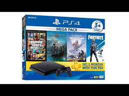 unboxing <b>Sony Playstation 4 PS4</b> Slim <b>1TB</b> Mega pack 2 bundle w ...