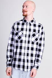 Рубашка URBAN CLASSICS Checked Flanell Shirt ... - Бордшоп#1