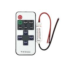 Mini <b>DC 12V</b> Led <b>Controller</b> Dimmer 6A Wireless <b>RF Remote</b> to ...