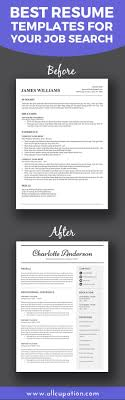 best ideas about best resume template perfect best resume templates for your job search allcupation com for more