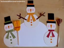 Decorazione Finestre Neve : La classe della maestra valentina tanti pupazzi di neve per