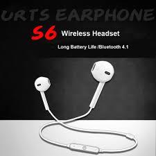 <b>S6 Sport Neckband Wireless</b> Headphone Bluetooth Earphone ...