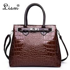 Luxury Crocodile Pattern <b>Women Handbags Fashion Sequined</b> ...
