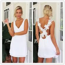 Buy <b>summer</b> women lace sexy <b>beach dresses sleeveless</b> and get ...