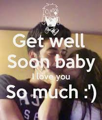 GET WELL SOMY FUTURE HUSBAND LOVE U on Pinterest | Get Well Soon ...