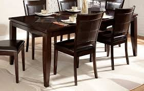Two Toned Dining Room Sets Homelegance Vincent Dining Table Espresso Oak 2 Tone 3299 78