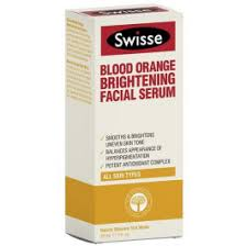 Swisse Blood Orange <b>Brightening Facial Serum 30mL</b>   Pharmacy 4 ...