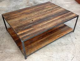 Iron Coffee Tables Reclaimed Wood And Angle Iron Coffee Table 40000 Via Etsy