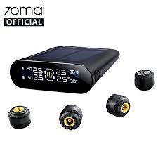 70mai <b>Tire Pressure</b> Monitor System Lite <b>Smart Car TPMS</b> Solar ...