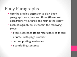 expository essay the outsiders  choose a big idea choose one big    body paragraphs use the graphic organizer to plan body paragraphs one  two and three