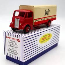 Atlas Dinky Toys 917 Supertoys GUY VAN Truck Red Diecast ...