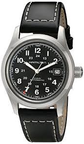 mens hamilton khaki field 38mm automatic watch h70455733 amazon mens hamilton khaki field 38mm automatic watch h70455733