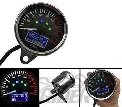 <b>Motorcycle Speedometer Odometer</b> Gauge ATV <b>Bike</b> Scooter Backlit ...