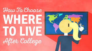 how to choose where to live after college how to choose where to live after college
