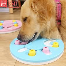 Dog <b>Puzzle</b> Toys Puppy Treat Dispenser Increase IQ Interactive ...