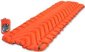 Надувной <b>коврик Klymit Insulated Static</b> V, оранжевый купить в ...
