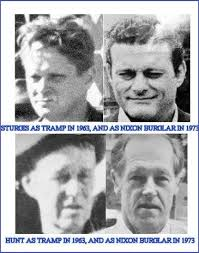 Image result for Watergate burglars were connected with the JFK assassination), - hence Richard Nixon got a full pardon.