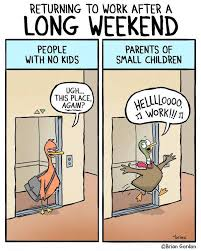 Work after a long weekend | Funny Pictures, Quotes, Memes, Jokes via Relatably.com