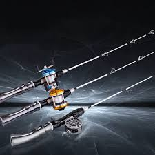 Hot Discount #1aab - NEW 65CM Winter <b>Ice Fishing</b> Rods 2 Tips ...