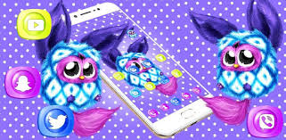 <b>Cute Cartoon</b> Dots <b>Cat</b> Theme - Apps on Google Play