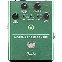 <b>FENDER</b> MARINE LAYER REVERB PEDAL -- <b>педаль эффектов</b> ...