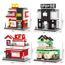 <b>hot LegoINGlys creators</b> city mini Street view <b>McDonald</b> apple store ...