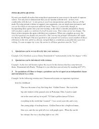 quoting in an essay quoting in essays ayucar com hd image of examples of quotes in an essay dietitian cover letter sample tutor how to place