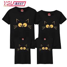 <b>Family Matching Clothes</b> Mother Daughter T shirt <b>Son Outfits</b> Cotton ...