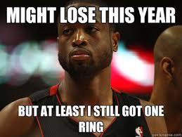 Nonchalant Dwayne Wade memes | quickmeme via Relatably.com