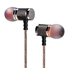Earphone <b>QKZ DM7 Zinc</b> Alloy In Ear Earphones HiFi Earphone ...