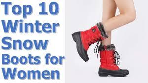 Top 10 Best Winter <b>Snow Boots</b> for Women Reviews <b>2019</b>-2020 ...